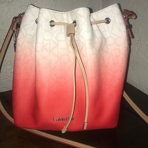 Calvin Klein Women's Jordan Ombré Bucket Bag